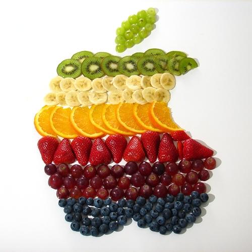 fruit, apple, and orange image