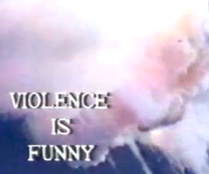 funny, violence, and pale image