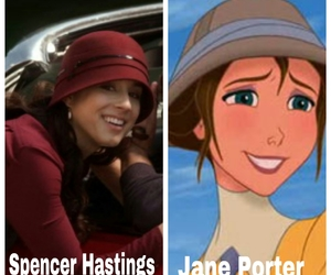 spencer, tarzan, and pretty little liars image