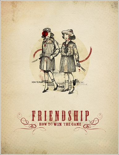 Collage, friendship, and illustration image
