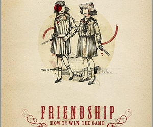 Collage, typography, and friendship image