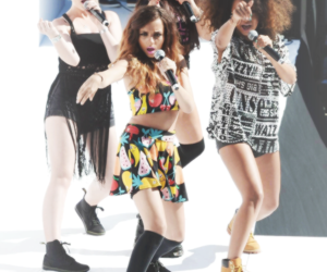 lm, leigh-anne pinnock, and perrie edwards image