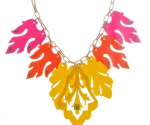 statement necklace, prom jewelry, and party necklace image