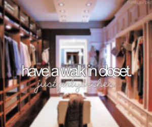 before i die, big, and closet image
