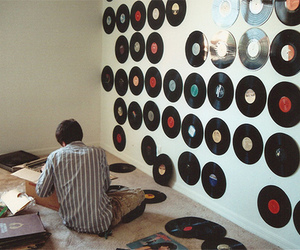 music, vintage, and boy image