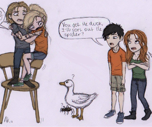 percy jackson, clary fray, and jace herondale image