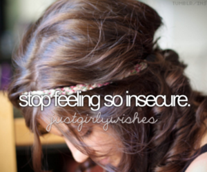 stop, insecure, and life image