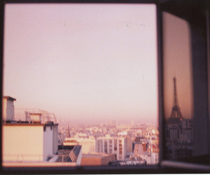 paris, city, and window image