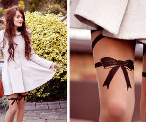 bow, purse, and fashion image