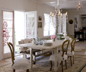 shabby chic and table image