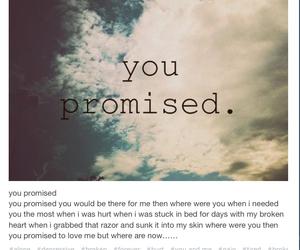 broken, brokenhearted, and cut image