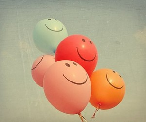 baloons, colours, and sky image
