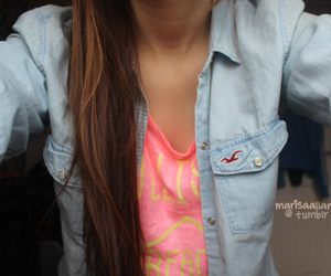 hollister, tumblr, and hair image
