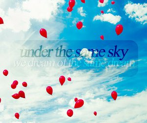 balloons, Lyrics, and cassiopeia image