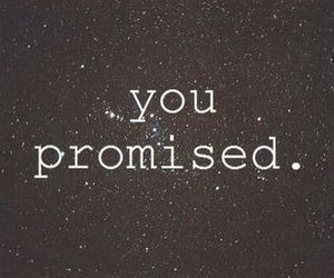 promise, galaxy, and sad image