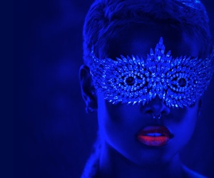 art, fashion, and mask image