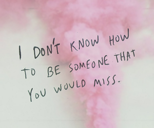 quotes, miss, and pink image