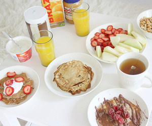 blogger, breakfast, and delicious image