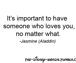 love, aladdin, and jasmine image