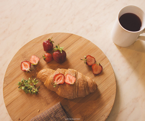 berries, coffee, and cook image