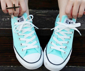 bright, converse, and shoes image
