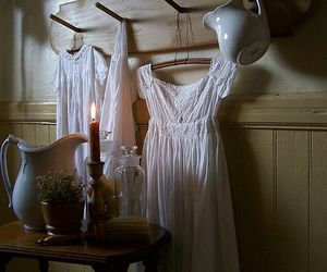 candle, dress, and Grudge image