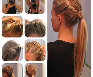 diy, hairstyles, and step by step image