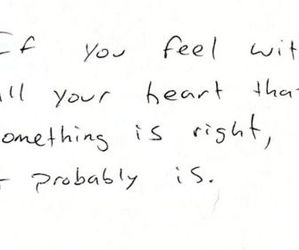 quote, heart, and love image