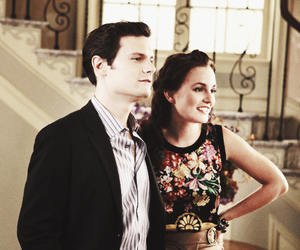blair waldorf, serena, and hugo becker image