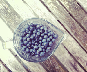 berries, blueberry, and summer image