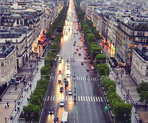 city, paris, and car image