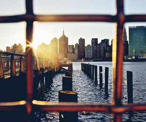 photography, new york, and ocean image