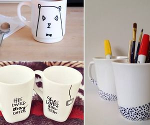 coffee, home, and cups image