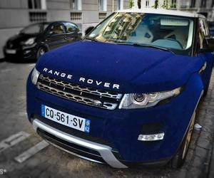 range rover, blue, and car image