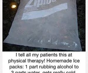 ice, ice pack, and diy image