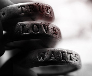 true love, true love waits, and love image