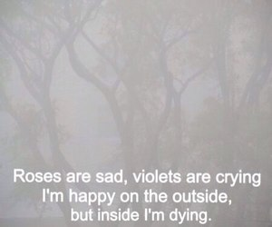 sad, rose, and dying image