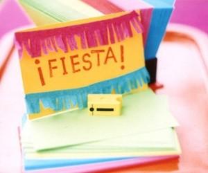 party, cinco de mayo decor, and tissue paper decor image