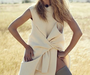 blonde, fashion, and doutzen image