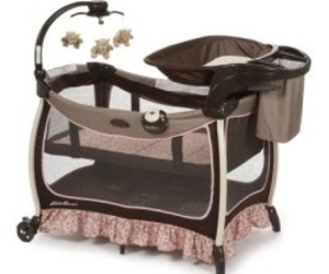 baby products, baby play yards, and bassinets image