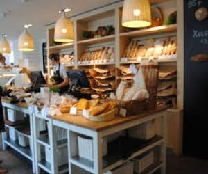 bakery, bread, and breakfast image