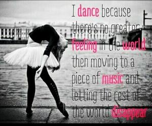 dance, music, and ballet image