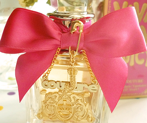 perfume, juicy couture, and pink image