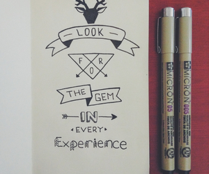 experience, handlettering, and hipster image