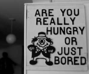 hungry, bored, and funny image