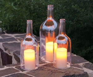 candle and bottle image