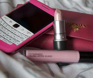 pink, Prada, and blackberry image