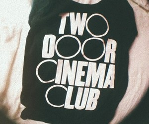 two door cinema club, band, and indie image