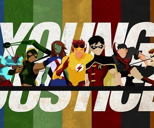 comics, DC, and young justice image