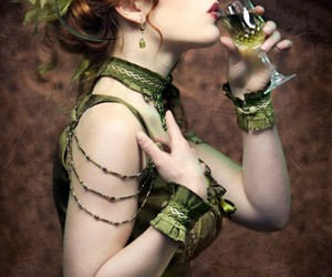 absinthe, dress, and fashion image